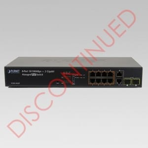 DISCONTINUED FGSD-1022P PoE Switch