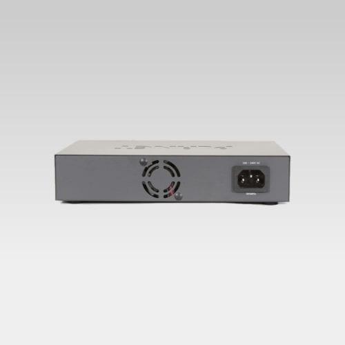 FSD-804PS PoE Switch Back