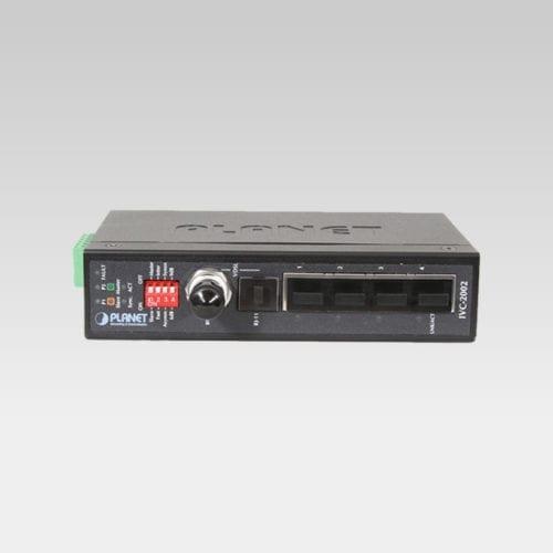 IVC-2002 Ethernet Extender Kit Front
