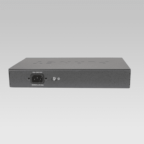 GSD-808HP PoE Switch Back