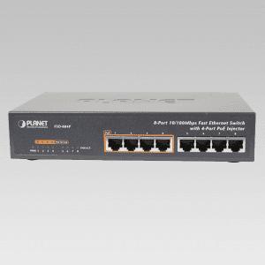 FSD-804P PoE Switch