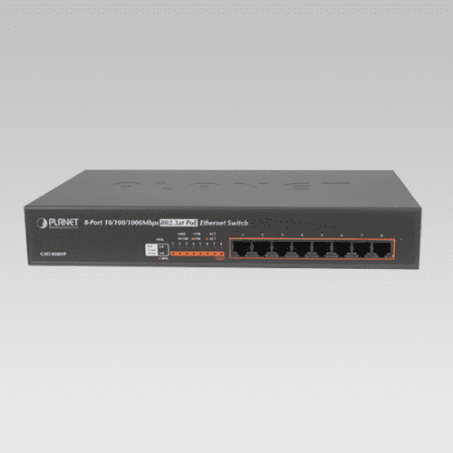 GSD-808HP PoE Switch