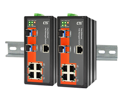 IFS-402GSM Certified Industrial Switch