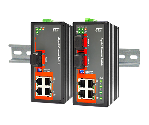IGS-402F Certified Industrial Switch