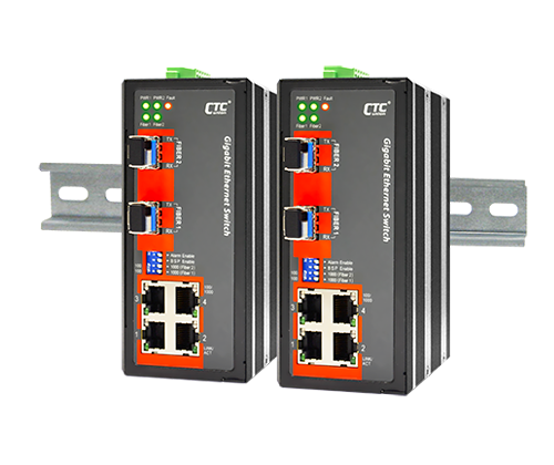 IGS-402S Certified Industrial Switch