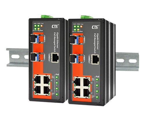 IGS-402SM-4PH24 Certified Industrial Switch