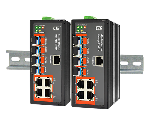IGS-404SM Certified Industrial Switch
