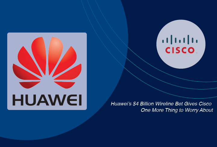 Huawei vs. Cisco