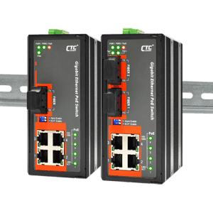 IGS-401F-4PHE24 Industrial PoE Switch