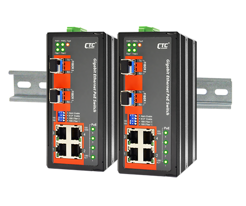 IGS-402S-4PHE24 Industrial PoE Switch