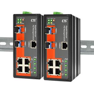 IGS-402SM-4PHE24 Industrial PoE Switch
