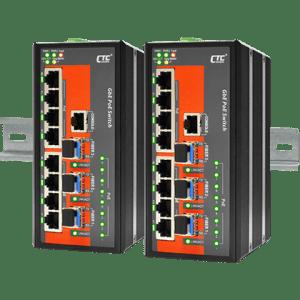 IGS-803SM-8PHE24 Industrial PoE Switch
