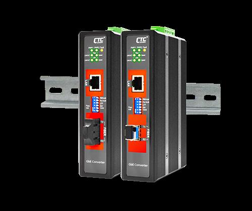 IMC-1000S-E Industrial Media Converter