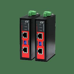 INJ-IG01-EPH Industrial PoE Injector