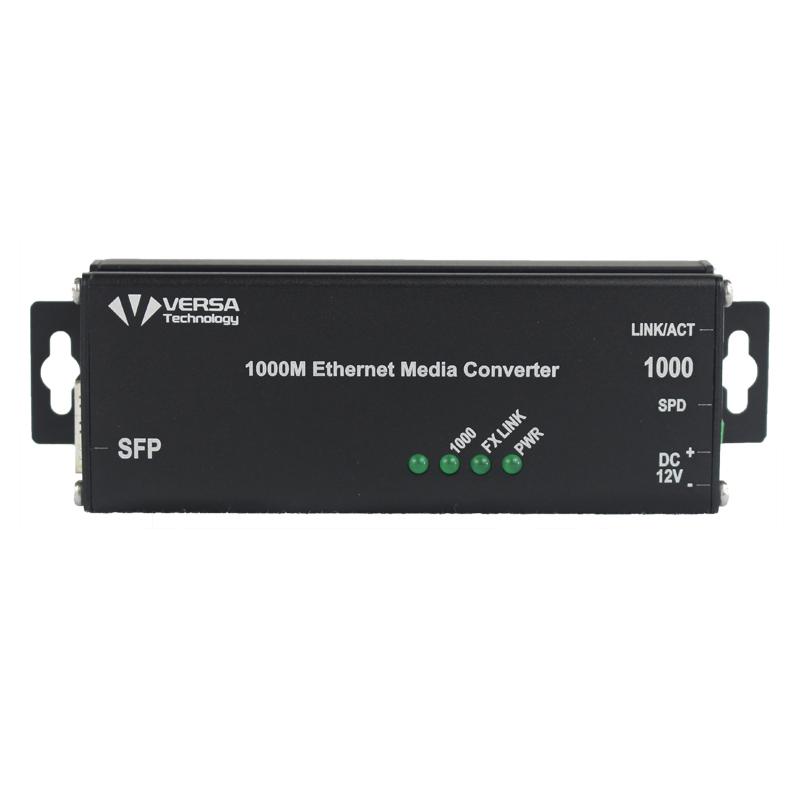 VX-200MT-X3 Micro Media Converter Front