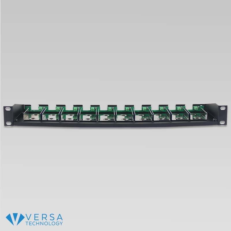 VX-R10 Micro Media Converter Rack Front