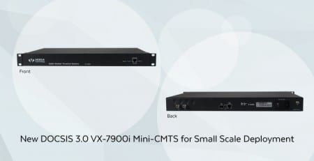 VX-7900i Mini-CMTS with DOCSIS 3.0
