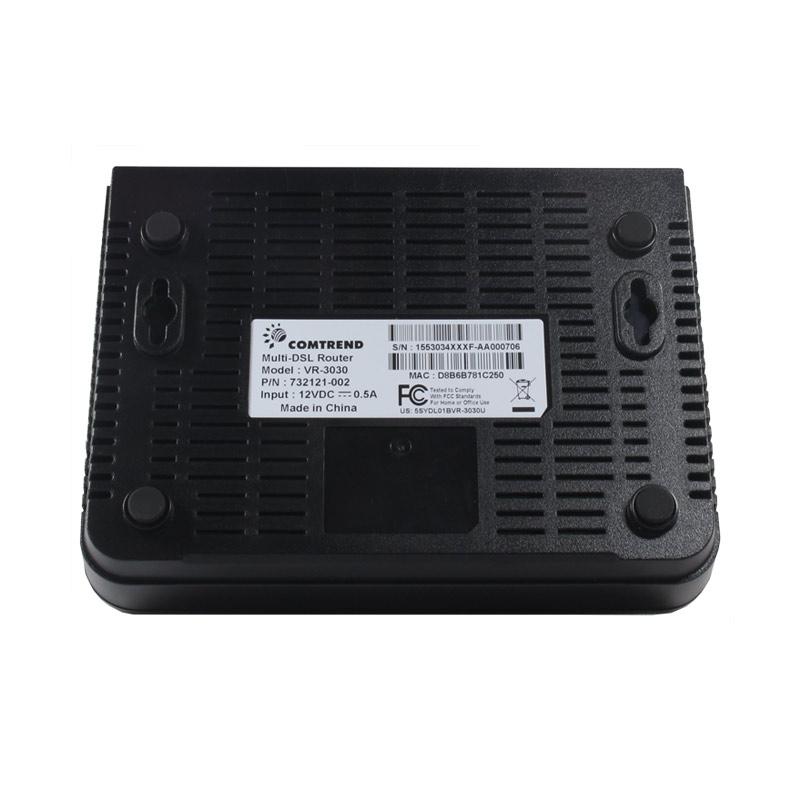 VR-3030 VDSL2 Router Bottom