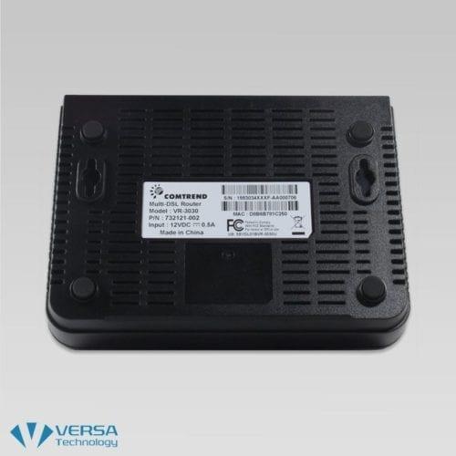 VR-3030 VDSL2 Router / Modem Bottom