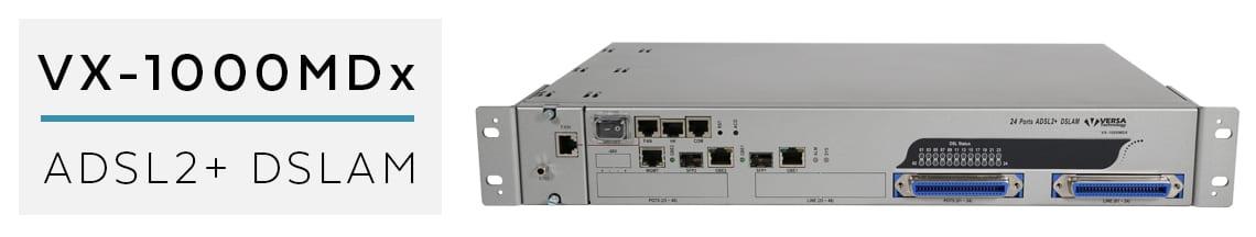 vx-1000mdx ADSL2+ DSLAM