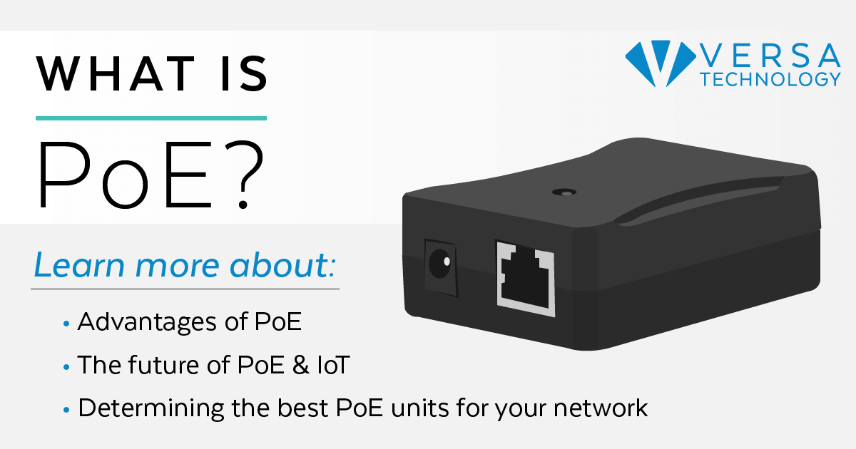 what is poe  power over ethernet