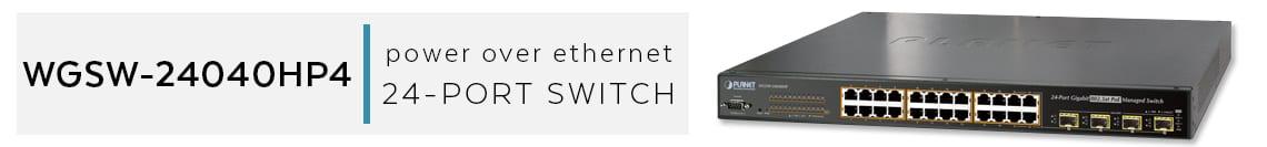 best 24 Port PoE Switch