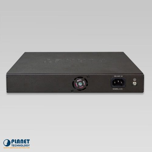 FGSD-1022VHP 10/100TX PoE Switch with LCD Back