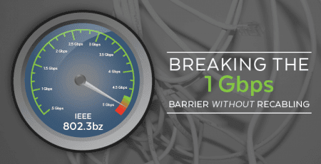IEEE 802.3bz | Breaking the 1Gbps Barrier without ReCabling