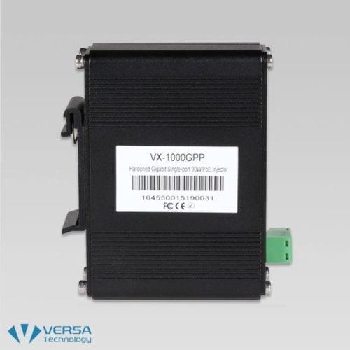 VX-1000GPP 90W PoE Injector Side 1
