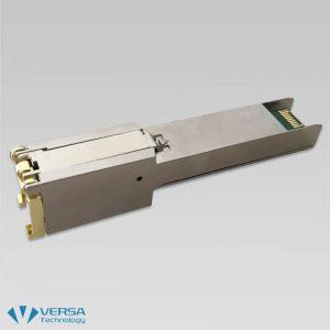 VX-160CE VDSL2 SFP Modem Back Angle