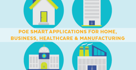PoE Smart Applications for Home, Business, Healthcare & Manufacturing