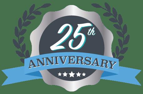 Versa 25th Anniversary Logo