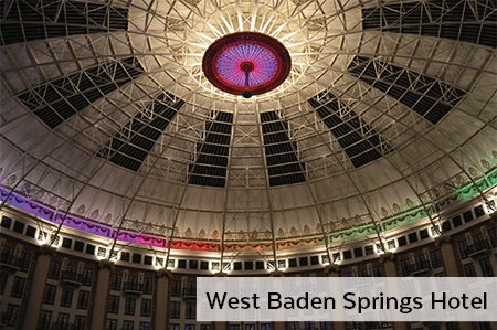 West Baden Spring Hotel PoE Lighting