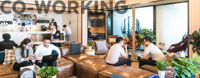 Co-Working Spaces in the Office