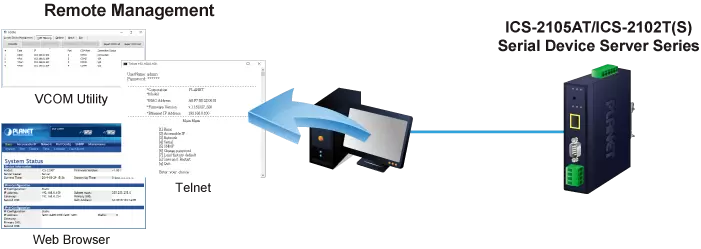 IMG-210xT Remote Management