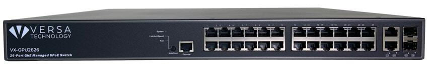 VX-GPU2626 PoE Switch