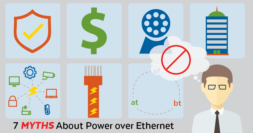 7 Myths About Power over Ethernet (PoE)